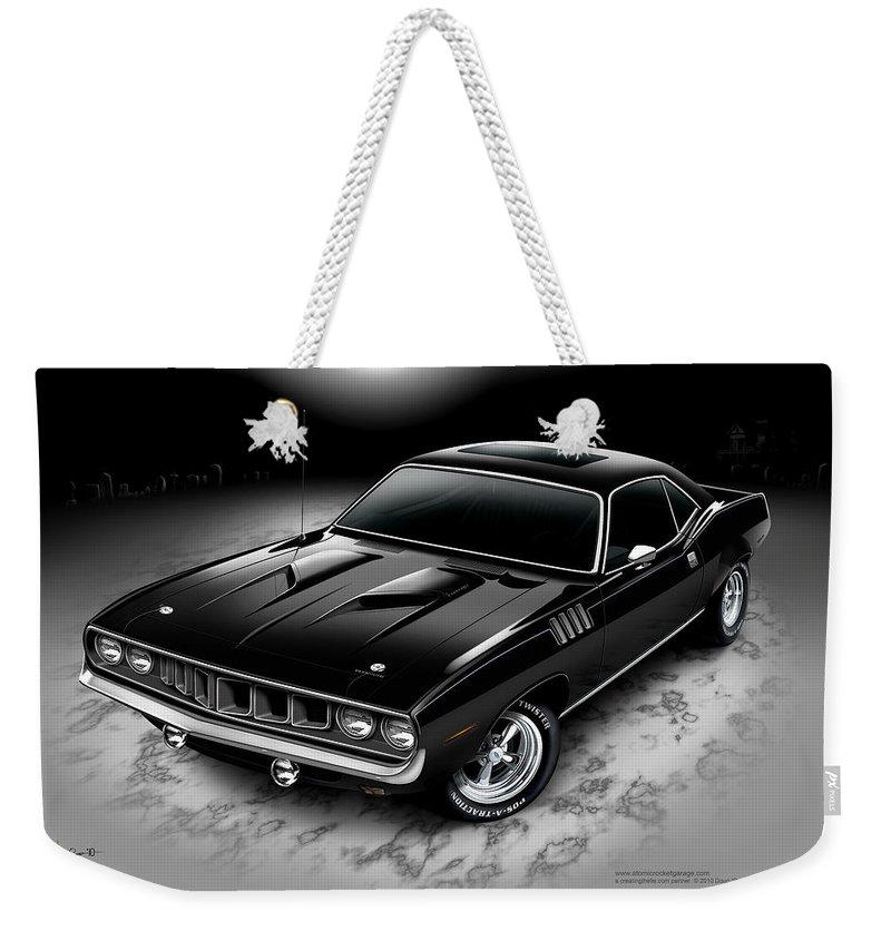 Phantasm 71 Cuda Weekender Tote Bag