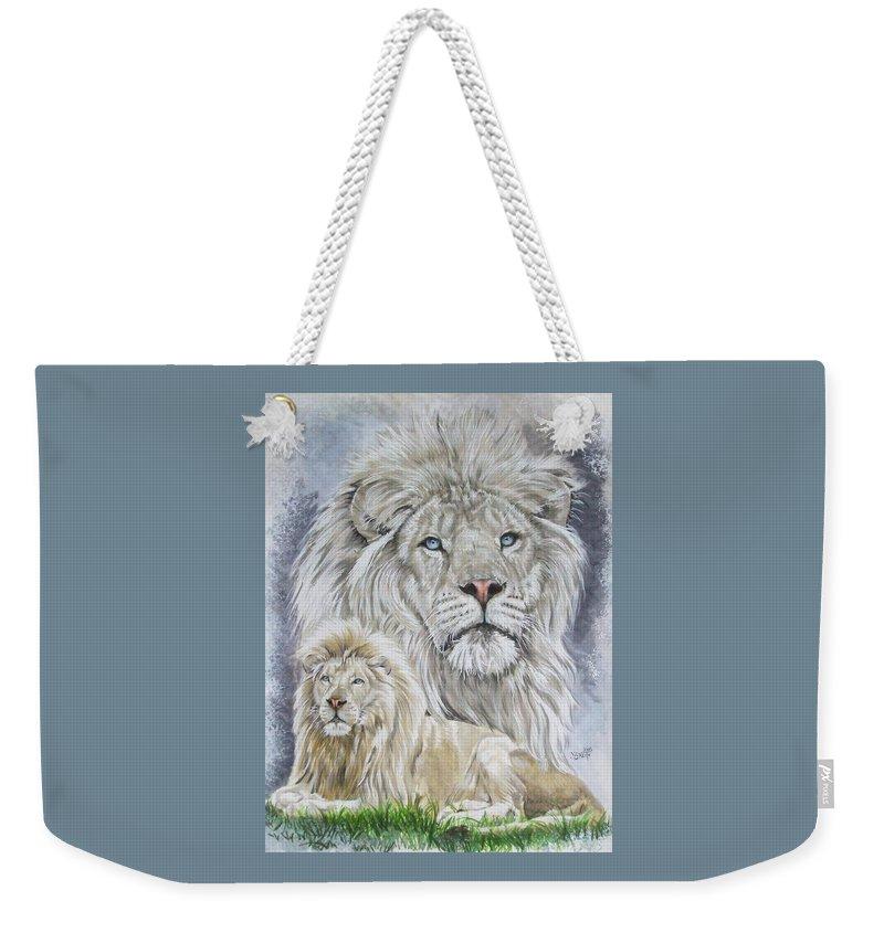 Art Weekender Tote Bag featuring the mixed media Phantasy by Barbara Keith