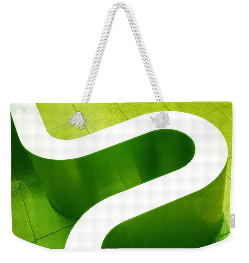 Abstract Weekender Tote Bag featuring the photograph Pharmacia by Skip Hunt