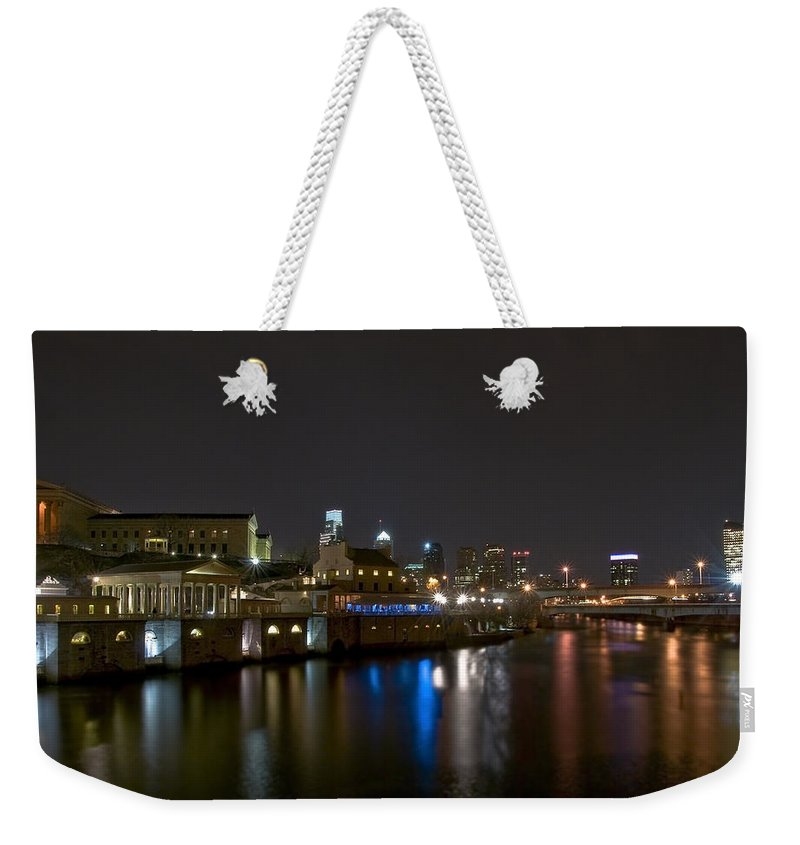 America Weekender Tote Bag featuring the photograph Philadelphia by Svetlana Sewell