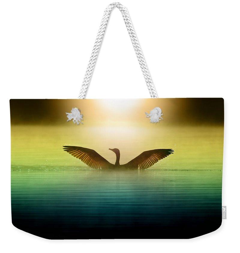 Goose Weekender Tote Bags