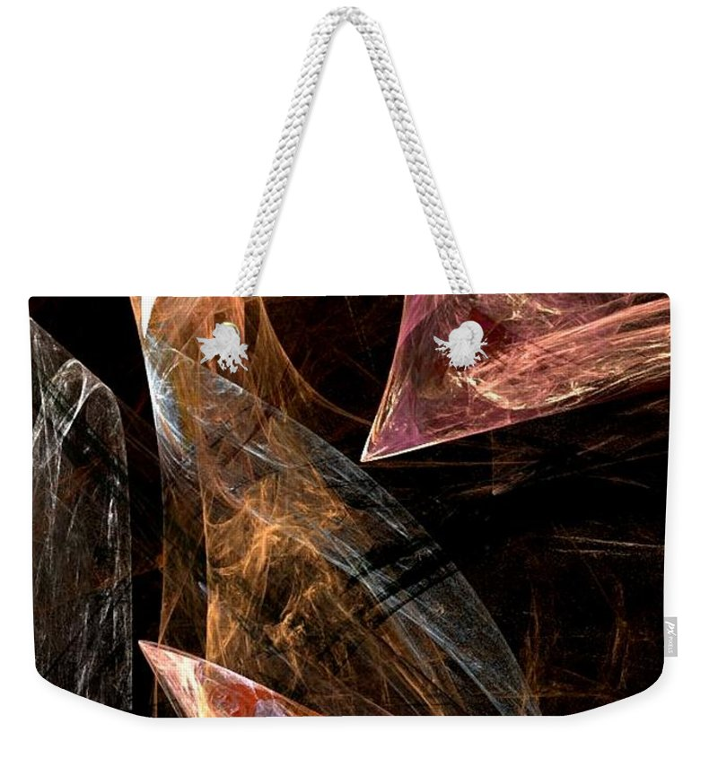 Art Weekender Tote Bag featuring the digital art Phoenix by Vicki Lynn Sodora