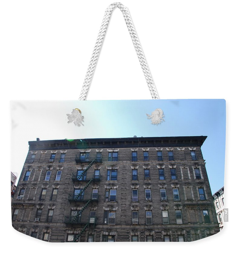 Architecture Weekender Tote Bag featuring the photograph Physical Graffitti by Rob Hans