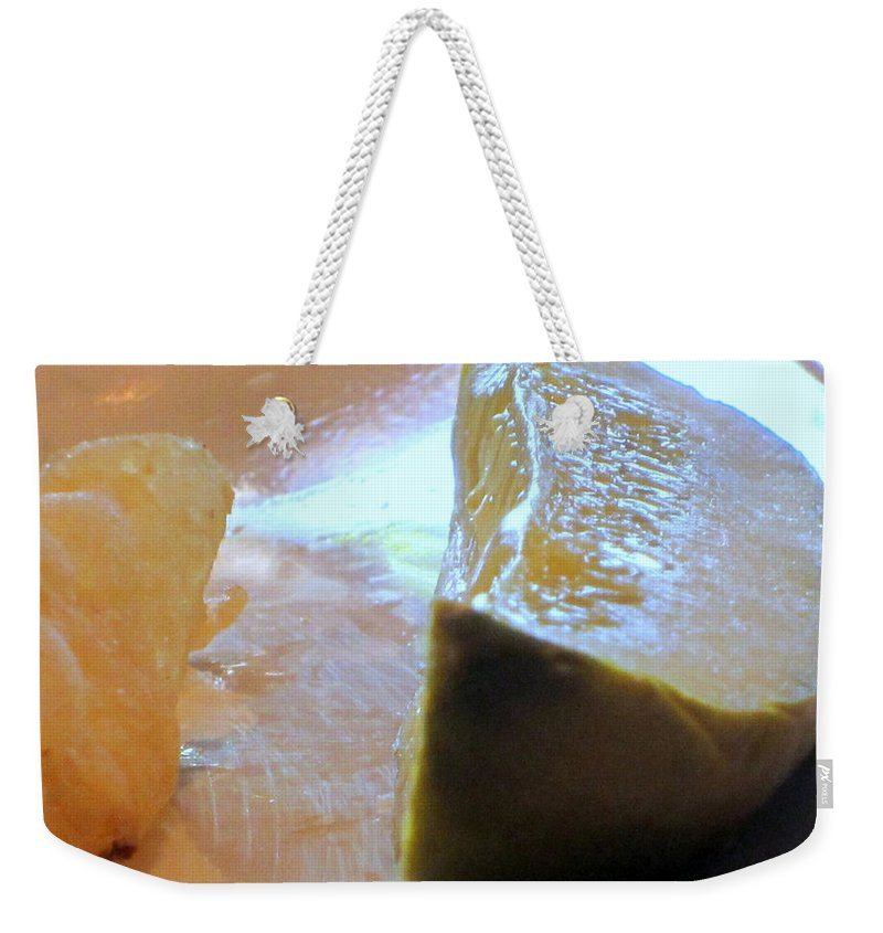 Pickles Weekender Tote Bag featuring the photograph Pickle by Amy Hosp