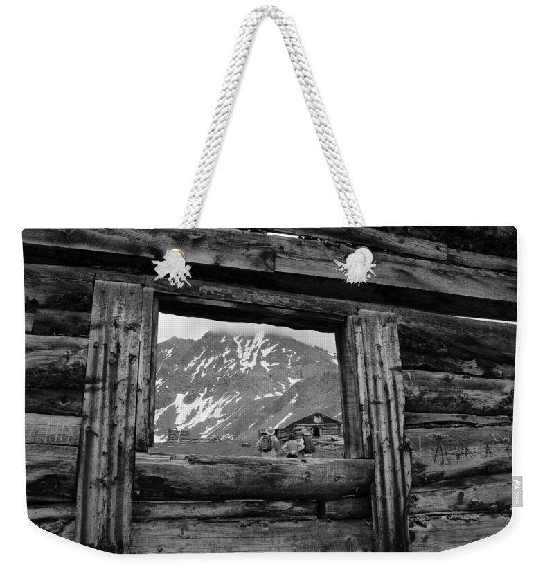 Breathtaking Views Weekender Tote Bag featuring the photograph Picture Frame by Fiona Kennard
