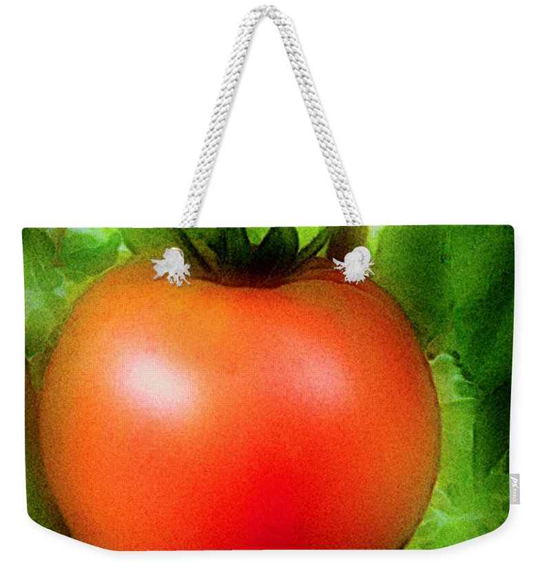 Garden Weekender Tote Bag featuring the painting Picture Perfect by RC DeWinter