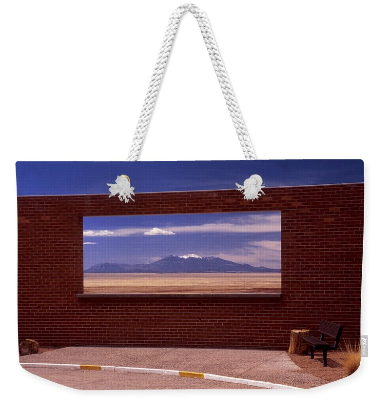 Window Weekender Tote Bag featuring the photograph Picture Window by Karen Ulvestad