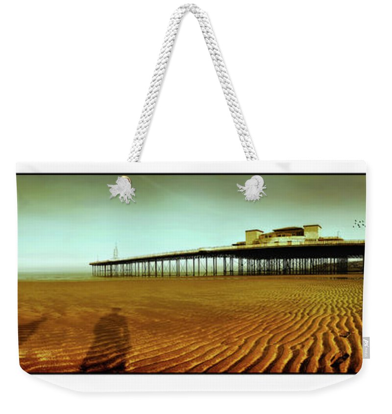 Pier Weekender Tote Bag featuring the photograph Pier Open Every Day by Mal Bray