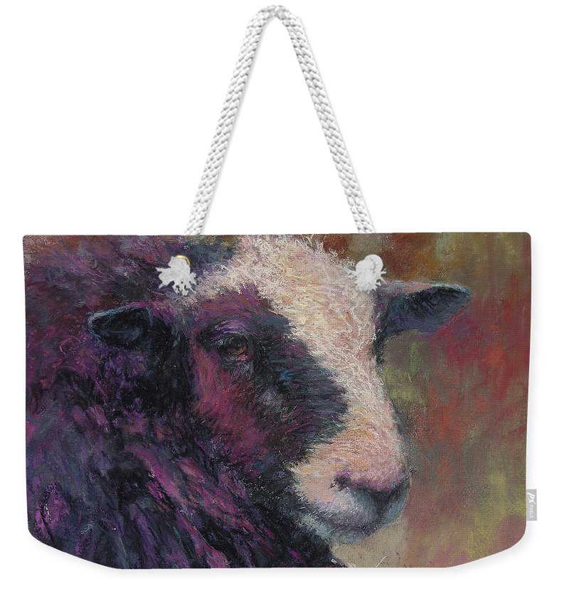 Animals Weekender Tote Bag featuring the painting Pierre by Susan Williamson