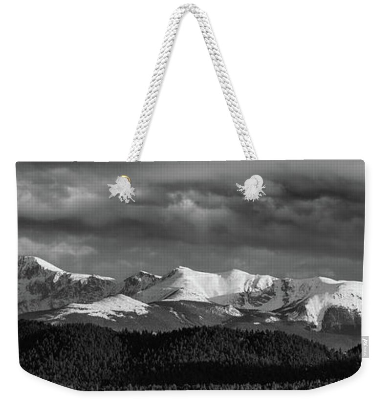 Pike National Forest Weekender Tote Bags