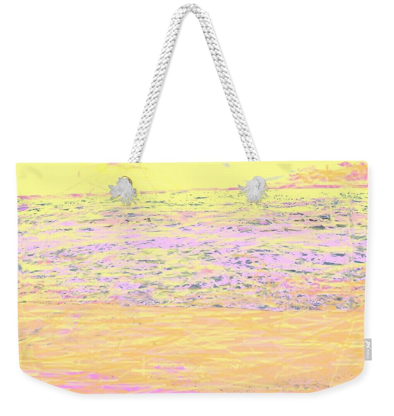 Seascape Weekender Tote Bag featuring the photograph Pineapple Sunset by Ian MacDonald