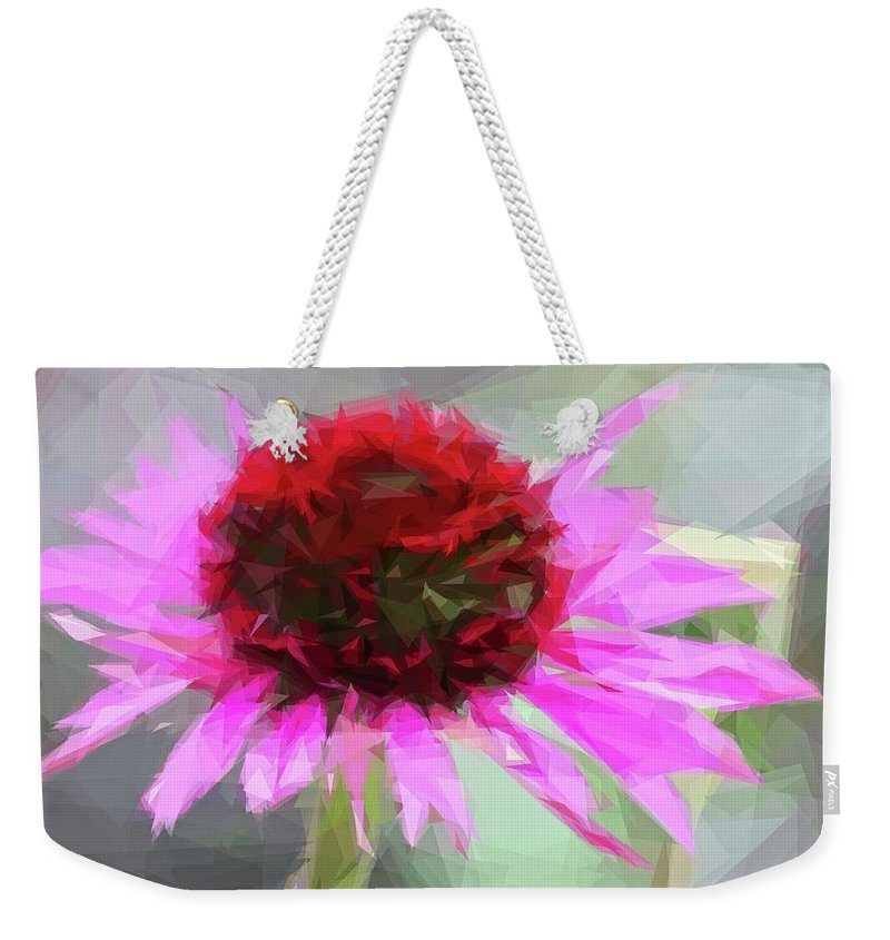 Alicegipsonphotographs Weekender Tote Bag featuring the photograph Pink Bezels by Alice Gipson