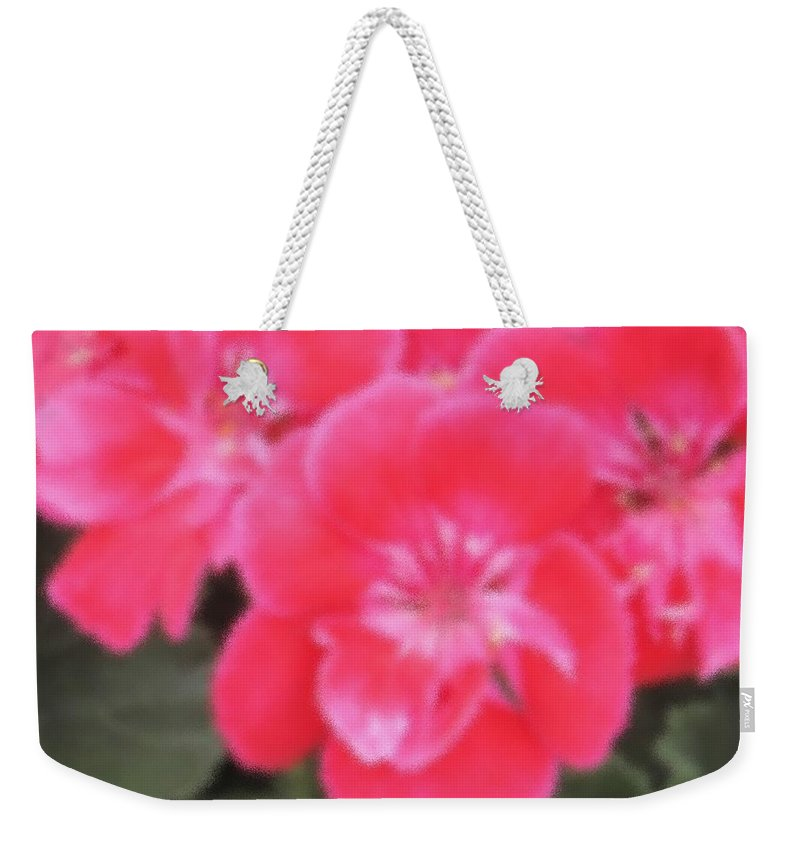 Pink Weekender Tote Bag featuring the photograph Pink by Ian MacDonald