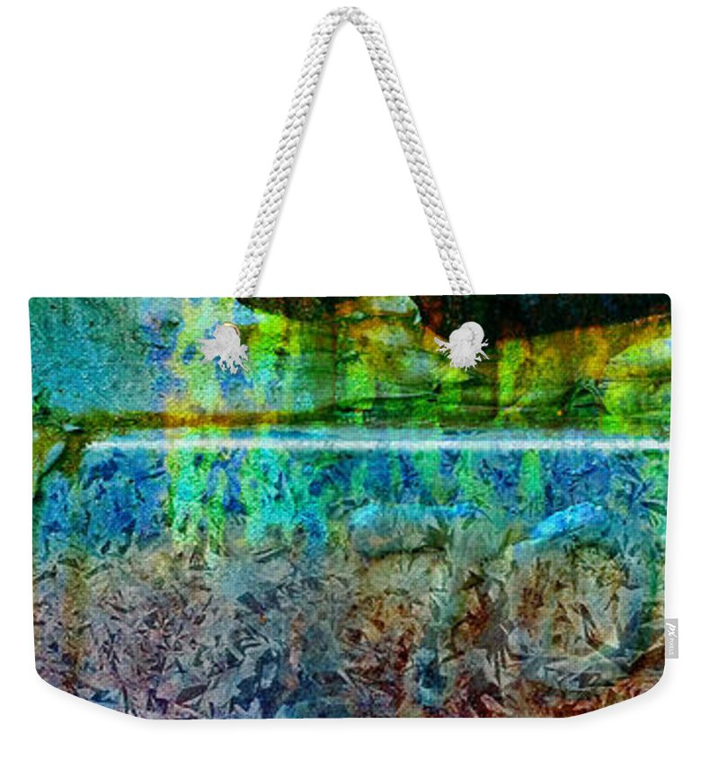 Pi Weekender Tote Bag featuring the photograph piNsky by Skip Hunt