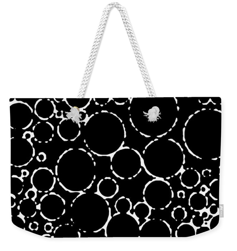 Abstract Weekender Tote Bag featuring the digital art Pipe Dream by Will Borden
