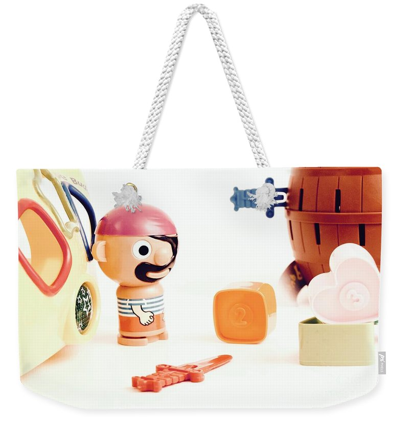 Pirate Weekender Tote Bag featuring the photograph Pirate Play by Shelly John
