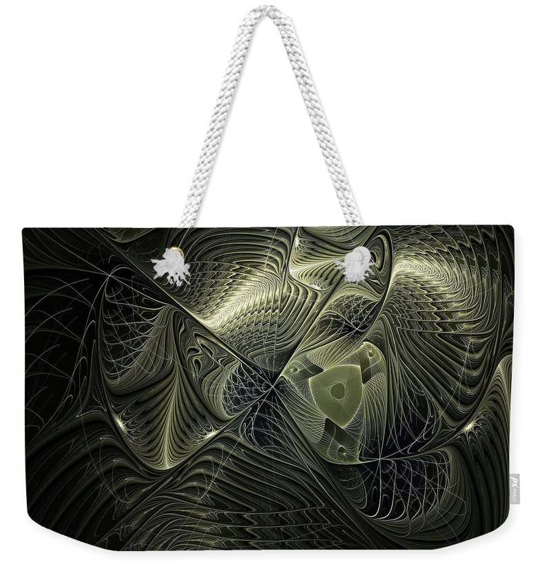 Digital Art Weekender Tote Bag featuring the digital art Piscean I by Amanda Moore