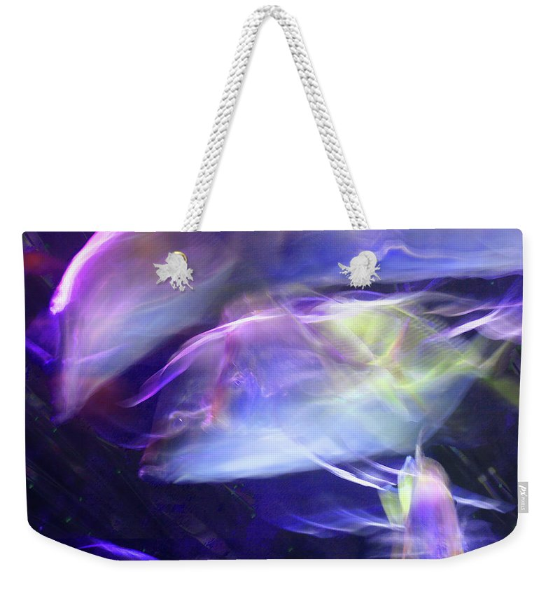 Abstract Weekender Tote Bag featuring the photograph Pisces by Steve Karol