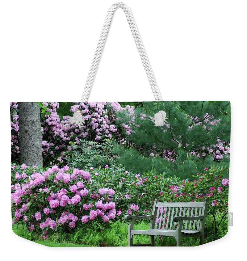 Longwood Gardens Weekender Tote Bag featuring the photograph Place To Rest by Richard Bryce and Family
