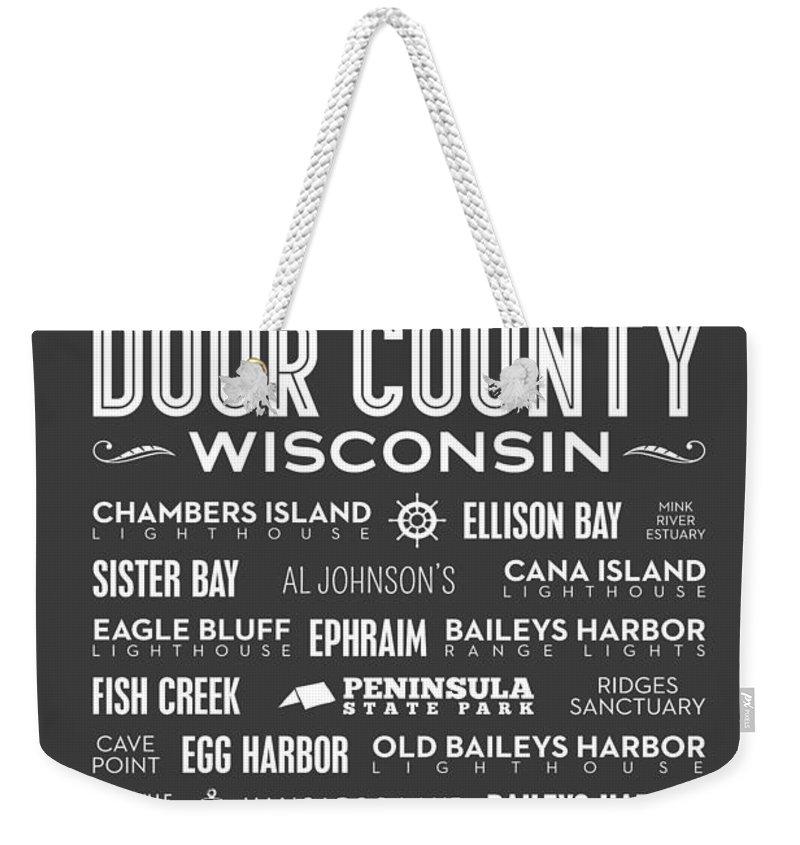 Sturgeon Bay Weekender Tote Bags