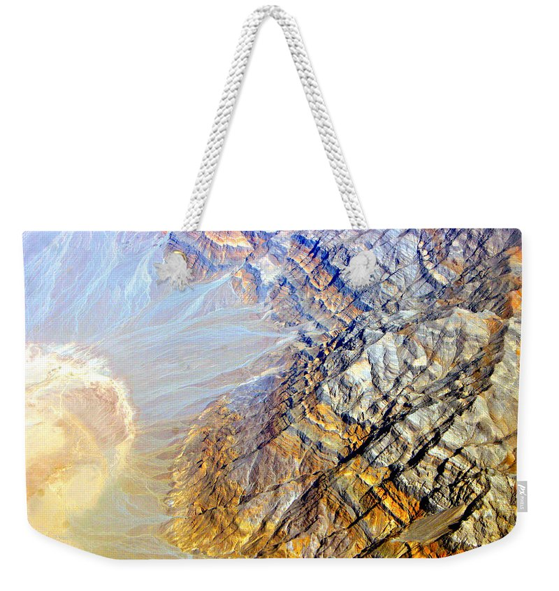 Aerial Weekender Tote Bag featuring the photograph Planet Earth Eight by James BO Insogna