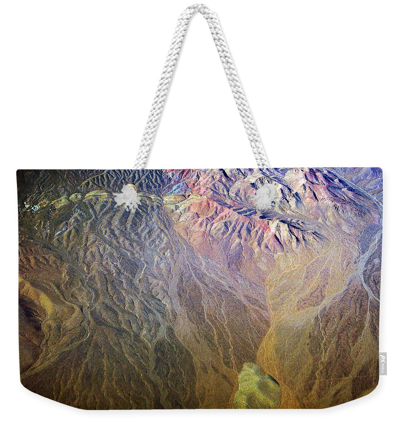 Abstract Weekender Tote Bag featuring the photograph Planet Earth Seven by James BO Insogna