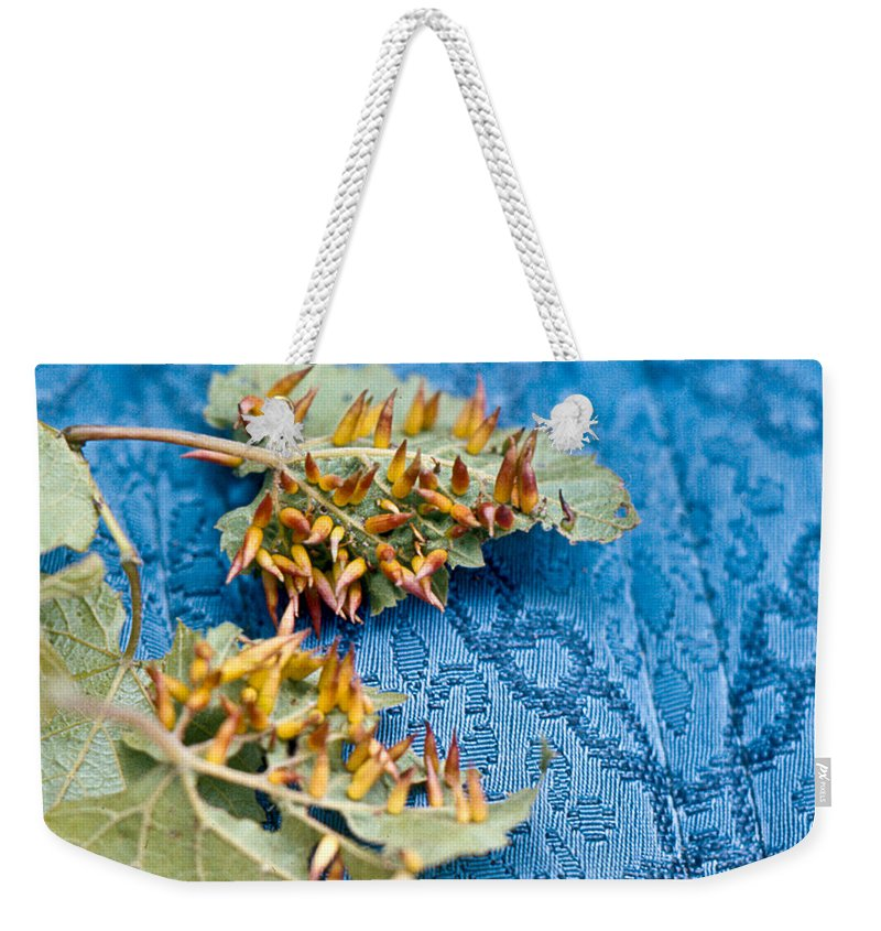 Plant Weekender Tote Bag featuring the photograph Plant Galls by Douglas Barnett