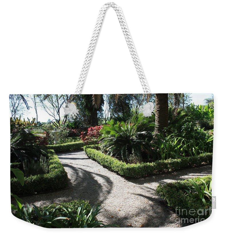 Garden Weekender Tote Bag featuring the photograph Plantation Garden by Carol Groenen