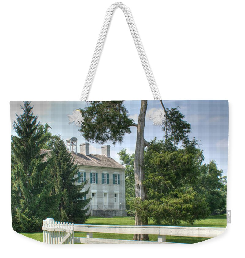Plantation Weekender Tote Bag featuring the photograph Plantation Home by Douglas Barnett