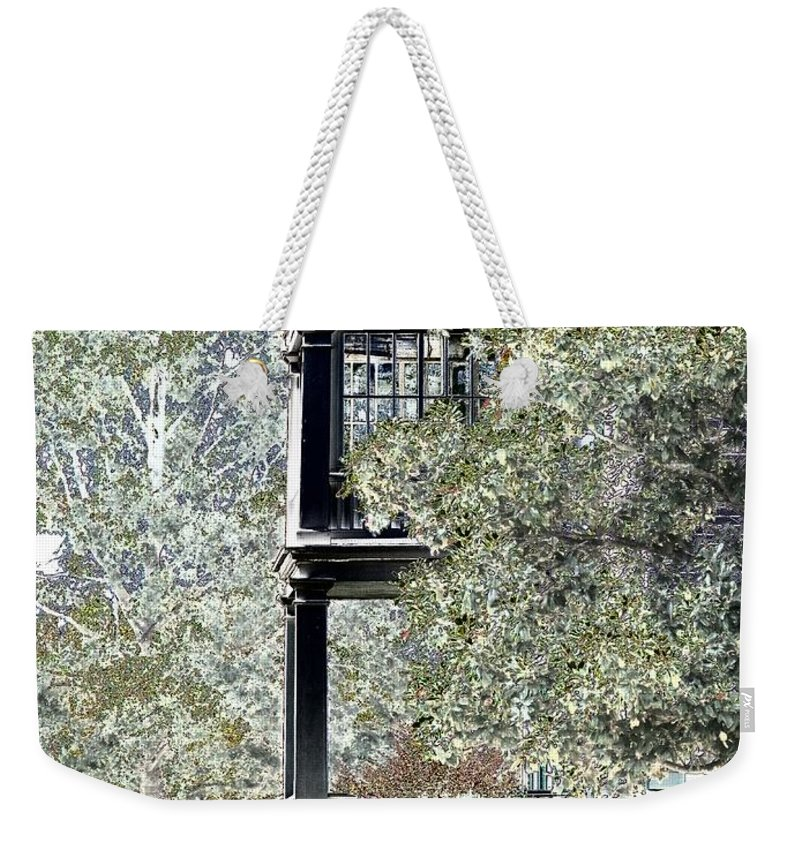 Outside Weekender Tote Bag featuring the photograph Plantation View by Charleen Treasures