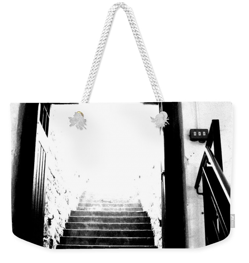 Tunnel Weekender Tote Bag featuring the photograph Please I'm Begging You by Amanda Barcon