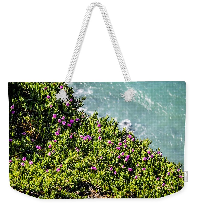California Weekender Tote Bag featuring the photograph Point Reyes National Seashore Coast On Pacific Ocean by Alex Grichenko