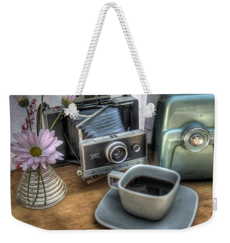 Hygge Weekender Tote Bag featuring the photograph Polaroid Perceptions by Jane Linders