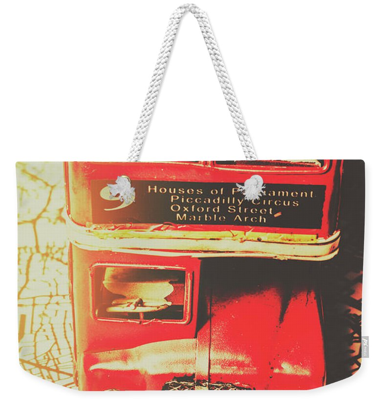 Street Weekender Tote Bag featuring the photograph Pommy Promenade by Jorgo Photography - Wall Art Gallery