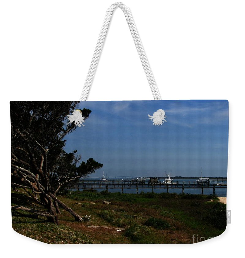Art For The Wall...patzer Photography Weekender Tote Bag featuring the photograph Ponce De Leon by Greg Patzer