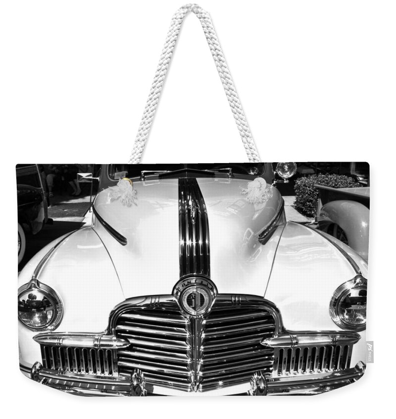 Photograph Weekender Tote Bag featuring the photograph Pontiac by Gwyn Newcombe