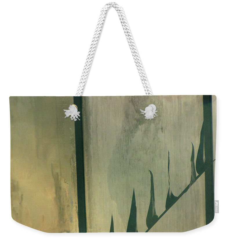Swimming Weekender Tote Bag featuring the photograph Pool Reflections by Sarah Houser