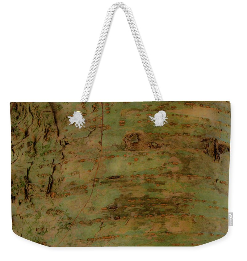 Pores Weekender Tote Bag featuring the photograph Pores Of Life by Douglas Barnett