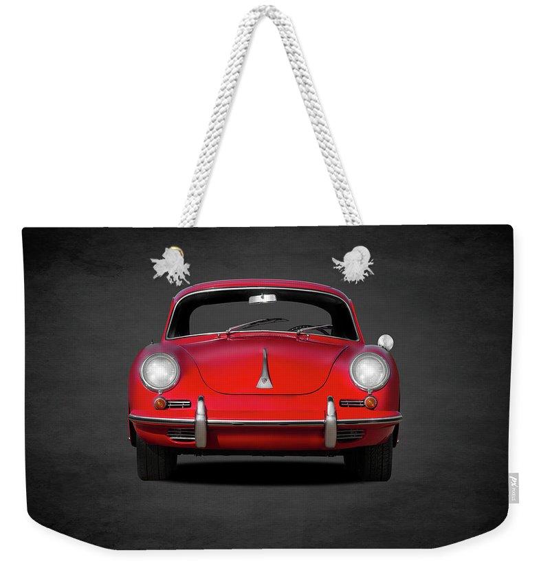 Porsche Weekender Tote Bags
