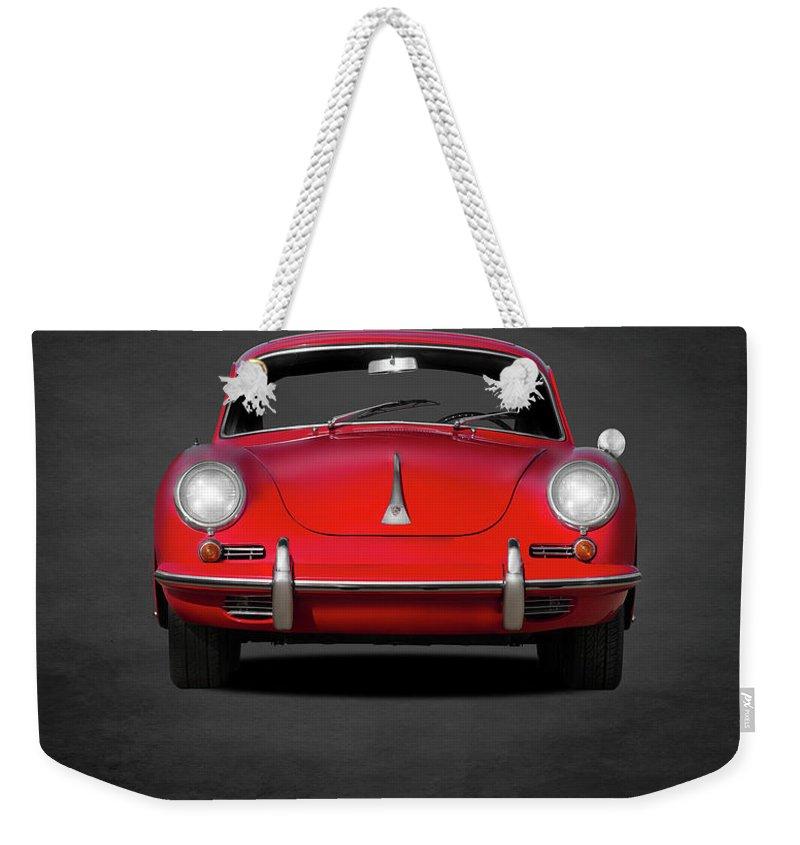 Car Weekender Tote Bags