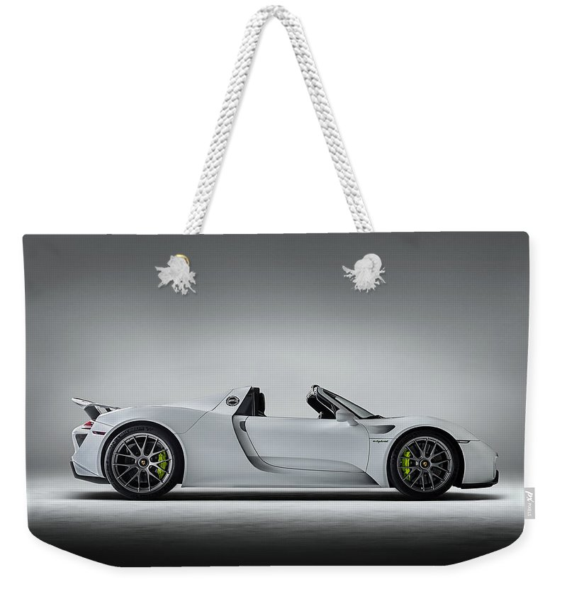 Lighting Digital Art Weekender Tote Bags
