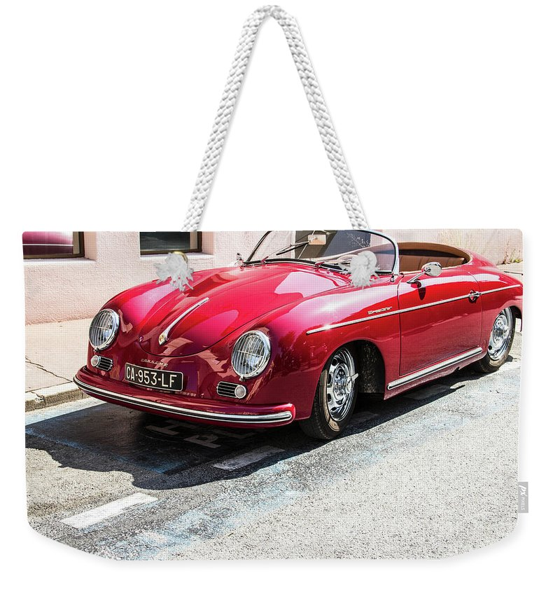 Porsche Oldtimer Weekender Tote Bag For Sale By Biphoto Barna Ilona