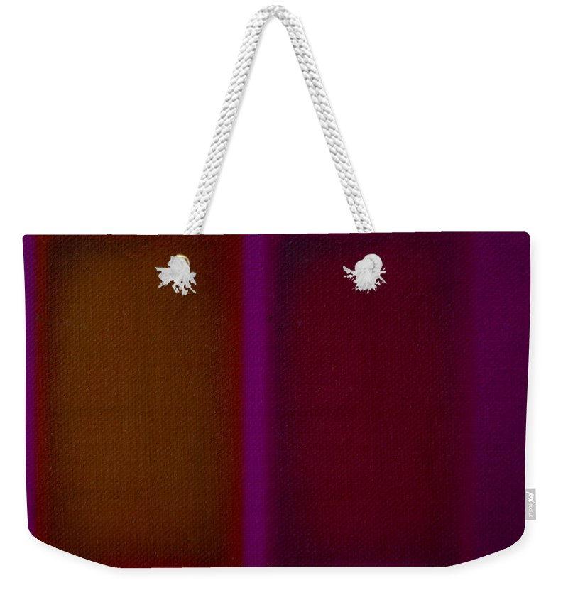 Rothko Weekender Tote Bag featuring the painting Portal by Charles Stuart