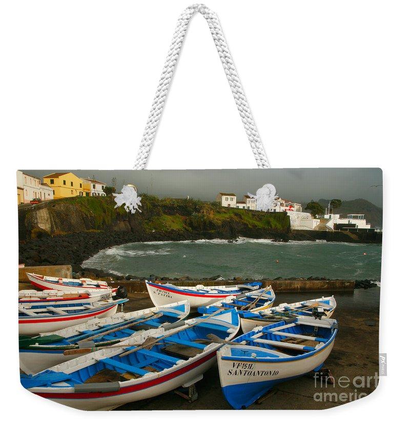 Coastal Weekender Tote Bag featuring the photograph Porto Dos Carneiros by Gaspar Avila