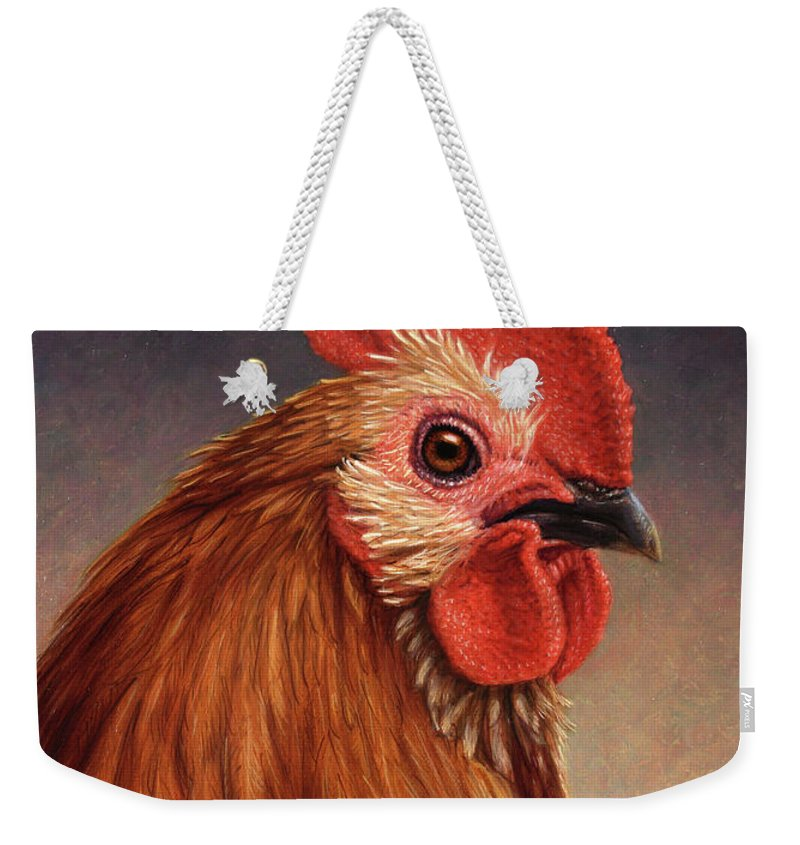 Rooster Weekender Tote Bags