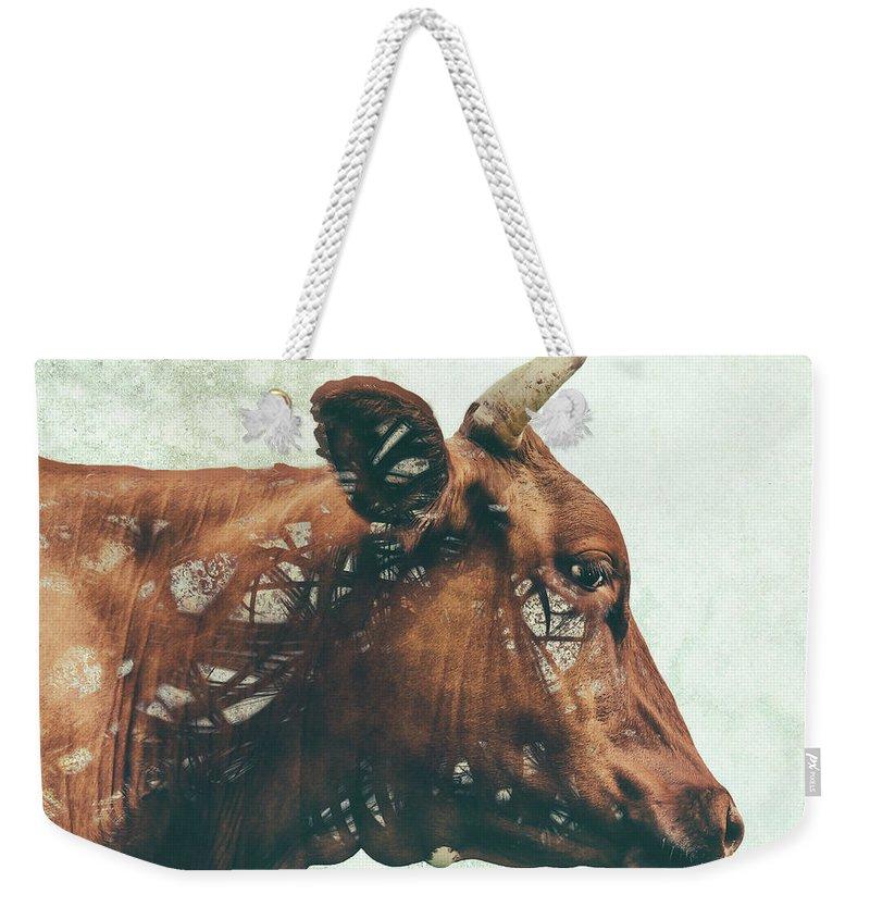 Farm Animals Digital Art Weekender Tote Bags