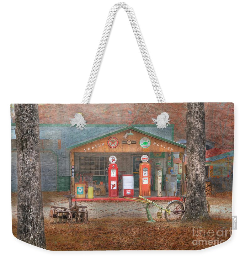 Travel Weekender Tote Bag featuring the photograph Possum Holler by Larry Braun