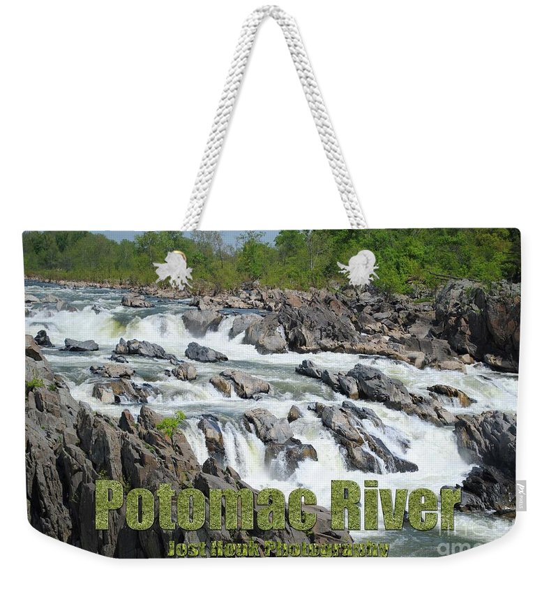 Potomac River Weekender Tote Bag featuring the photograph Potomac River by Jost Houk