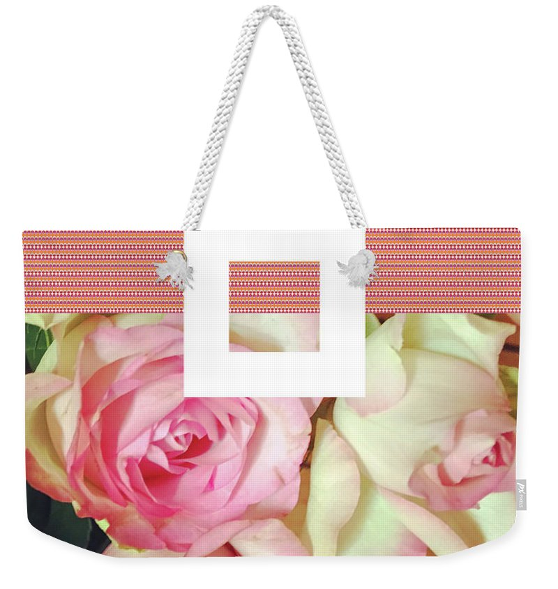 Roses Weekender Tote Bag featuring the digital art Pradada by Ceil Diskin