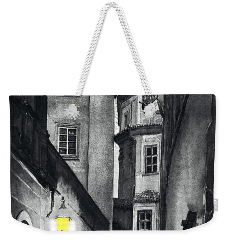 Giclee Weekender Tote Bags